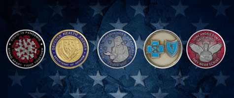 Medalcraft Mint Medical industries graphic
