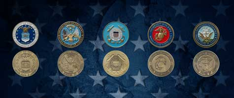 Medalcraft Mint Military industries graphic
