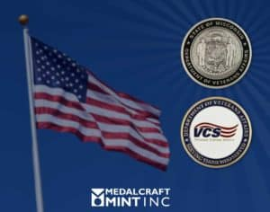 Medalcraft Mint veterans coins for Veterans Day