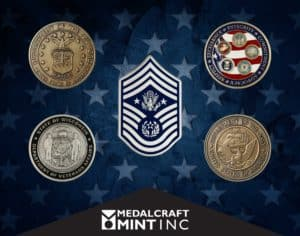 military coins Medalcraft Mint