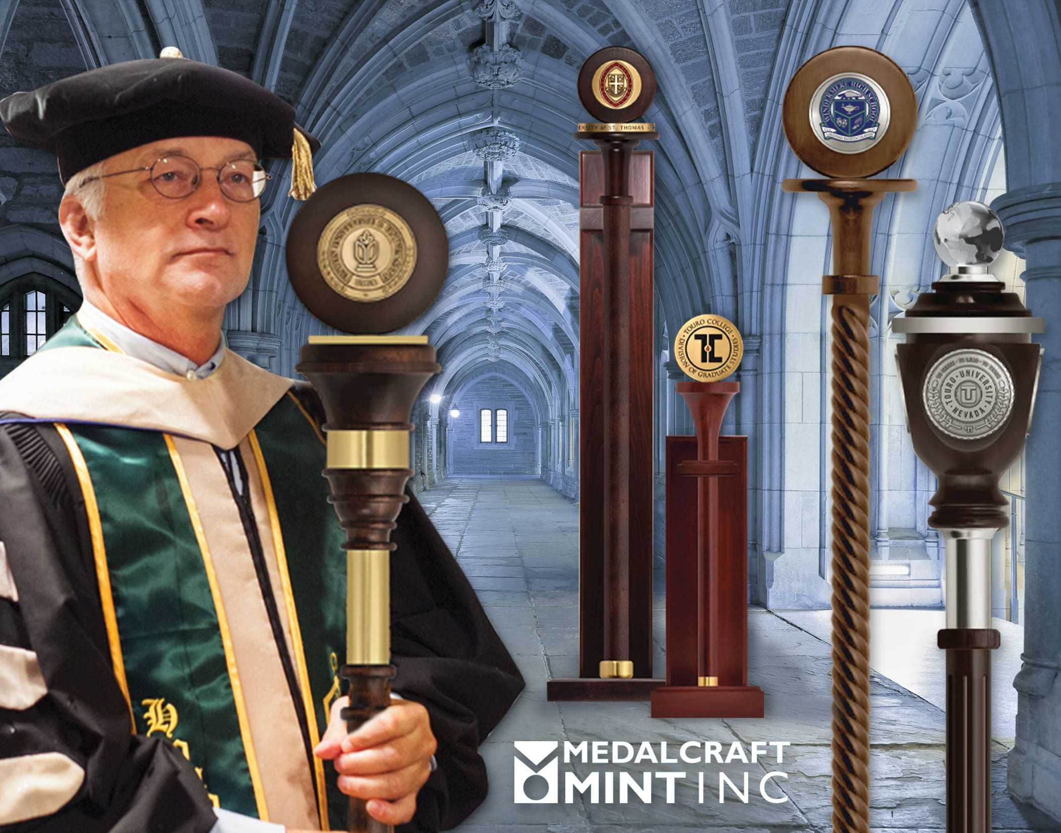Medalcraft Mint ceremonial mace
