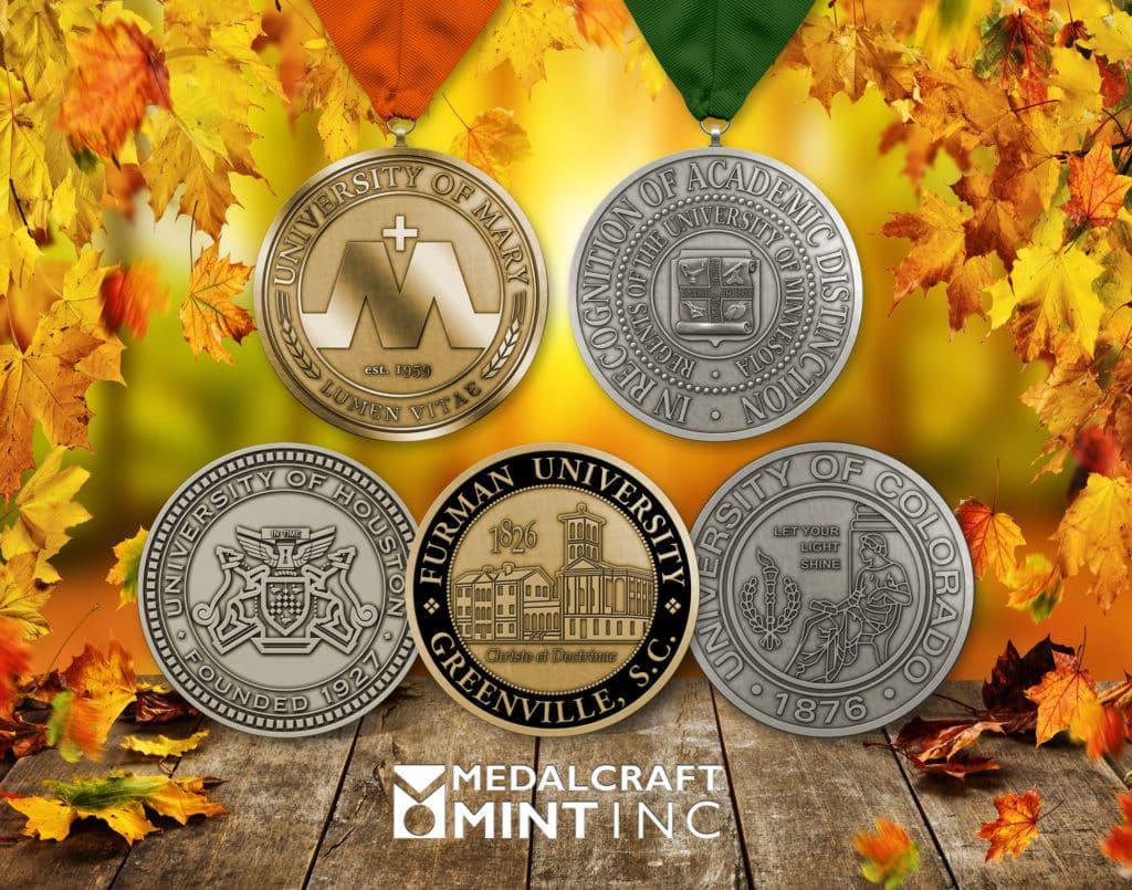 Medalcraft Mint university medallions