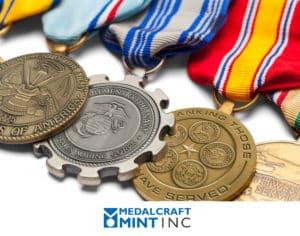 Medalcraft Mint custom military medals