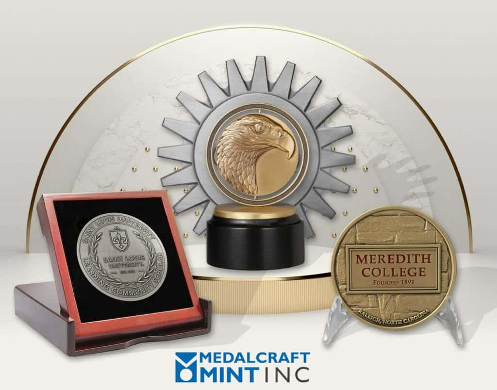 Metalcraft Mint custom medal