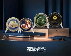 Metalcraft Mint how challenge coins are made