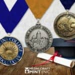 Graduation medals begin the alumni relationship-building process