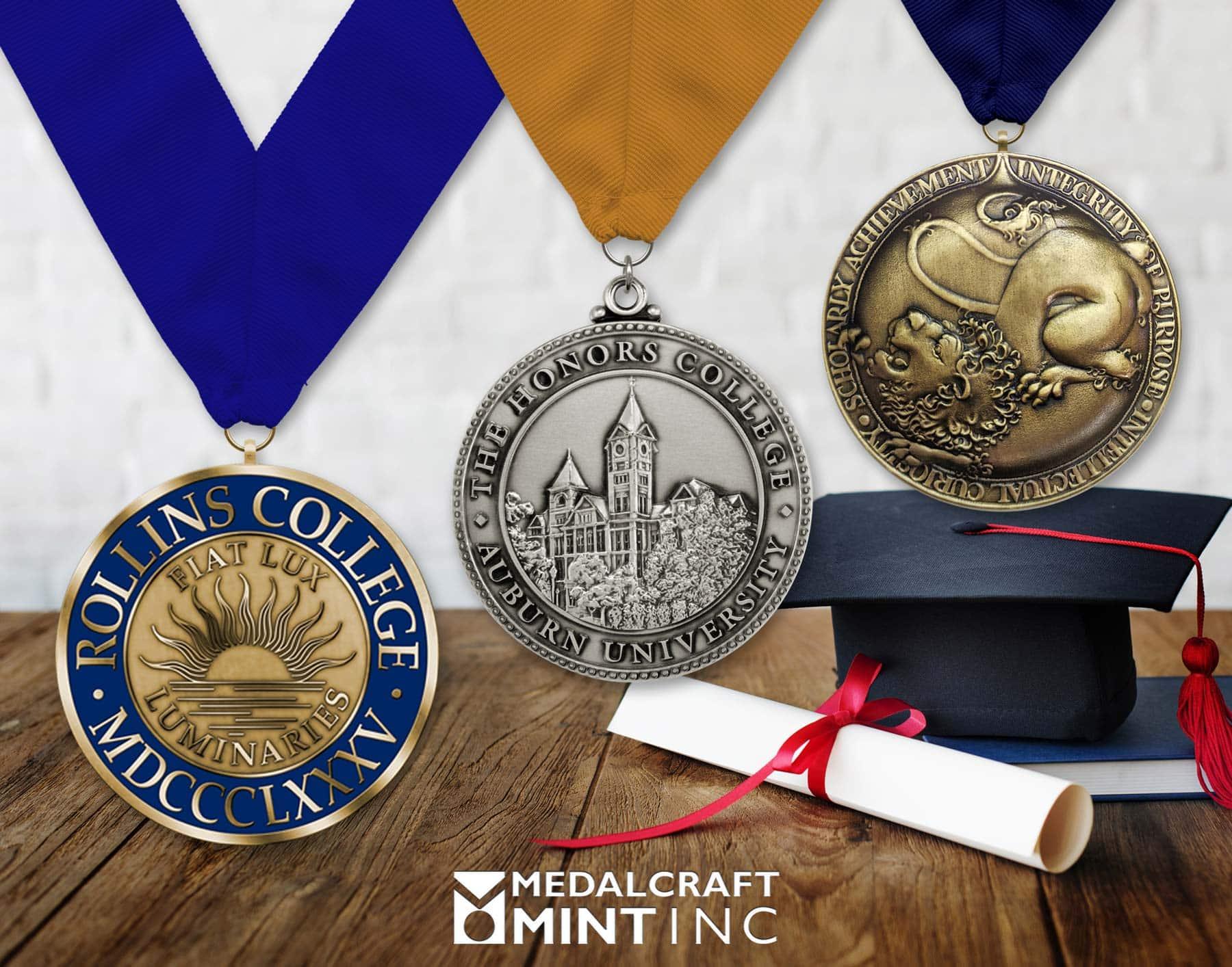 Medalcraft Mint graduation medals