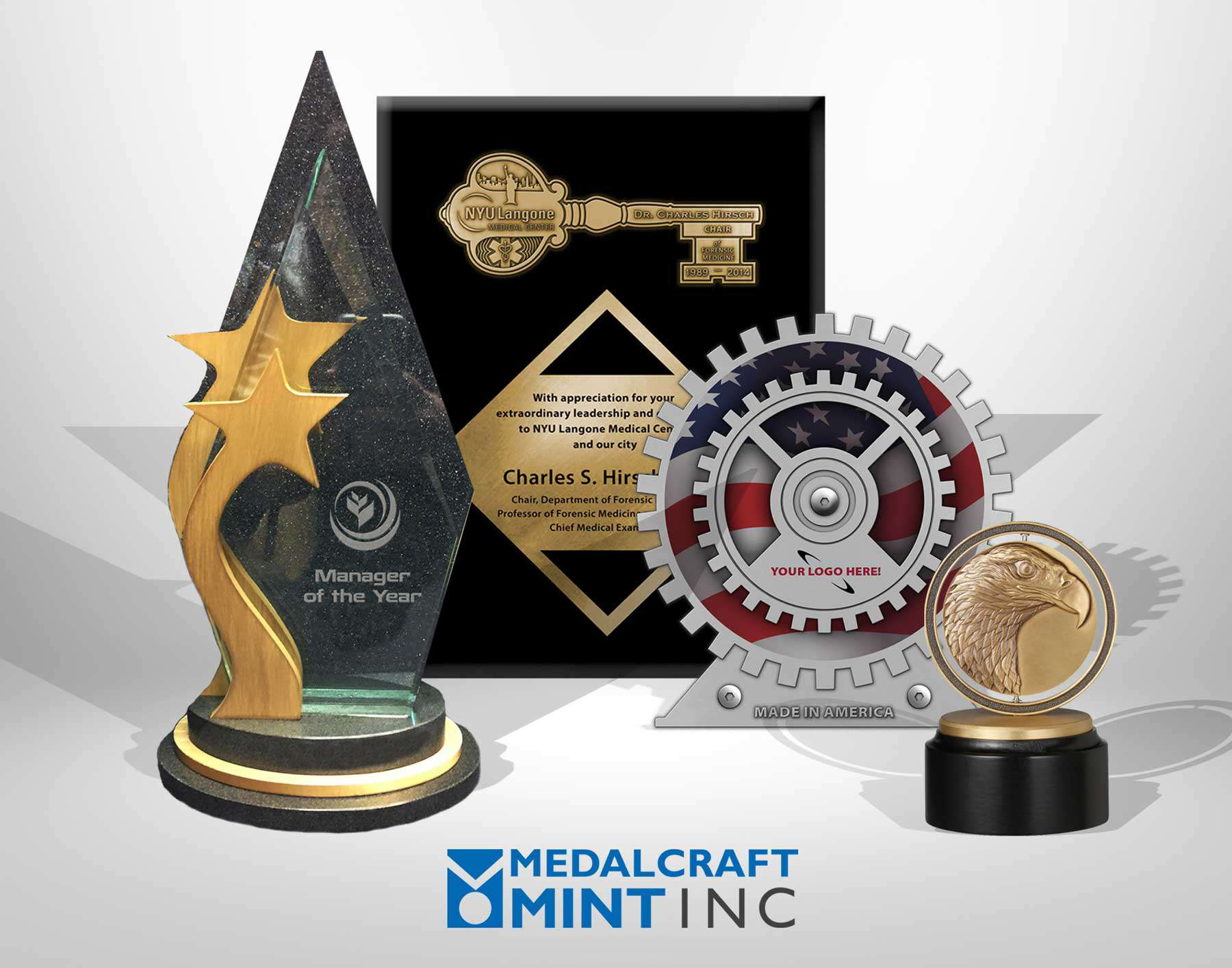 Medalcraft Mint corporate recognition awards