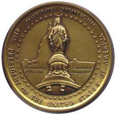 1989 George Bush Medallion Back