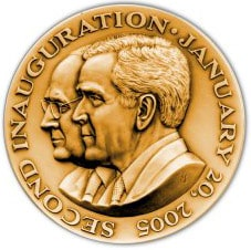 Bush/Cheney Inaugural Medallion