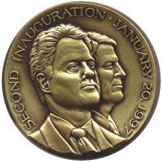 Clinton/Gore Inaugural Medallion
