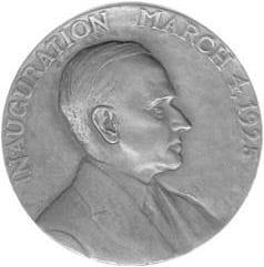Calvin Coolidge Inaugural Medallion