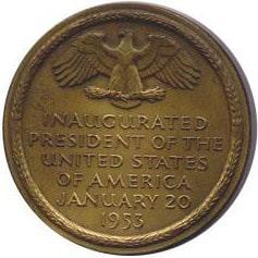 Dwight D. Eisenhower Inaugural Medallion