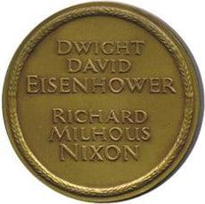 Eisenhower/Nixon Inaugural Medallion