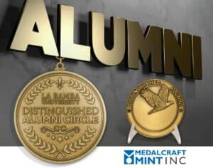 Medalcraft Mint alumni medallions