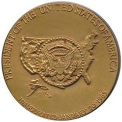 Lyndon B. Johnson Inaugural Medallion