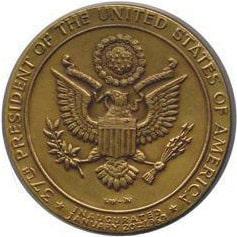 Richard M. Nixon Inaugural Medallion