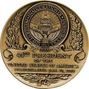 Barack Obama Inaugural Medallion