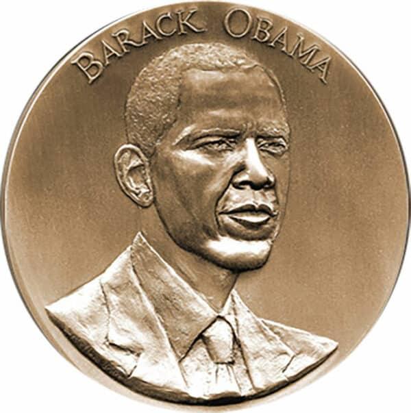 2009 Obama Medallion Front