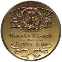 Reagan/Bush Inaugural Medallion