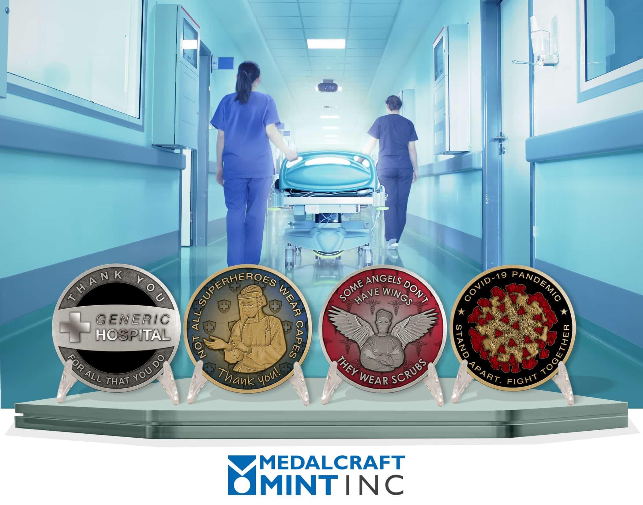 Medalcraft Mint healthcare medals