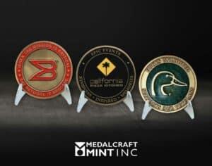 Medalcraft Mint enamel coins