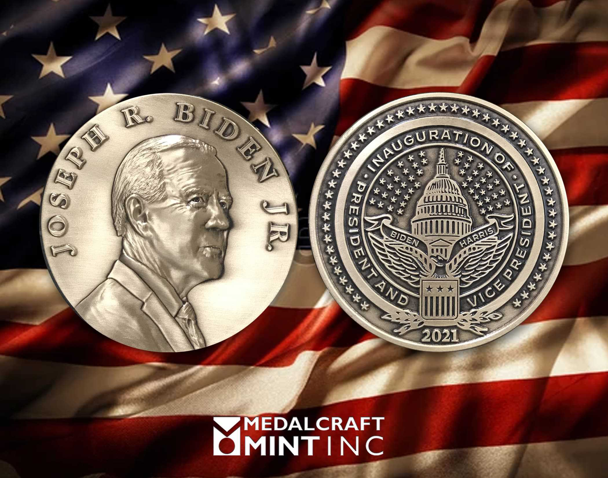 Medalcraft Mint Presidential Inaugural Medallions