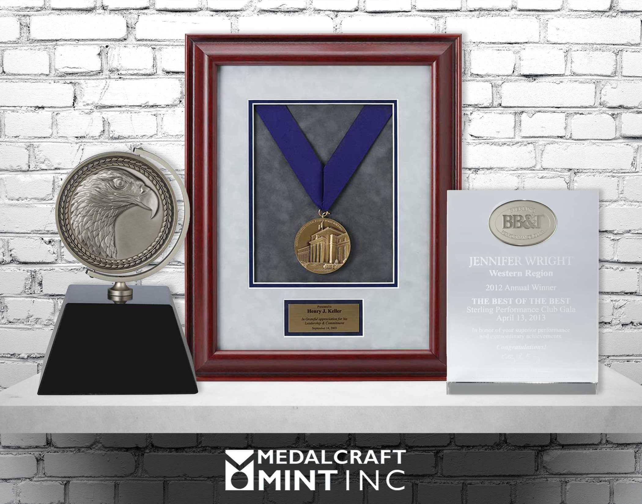 Medalcraft Mint employee awards