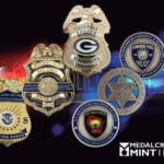 Custom police badges enhance the sense of pride for your force