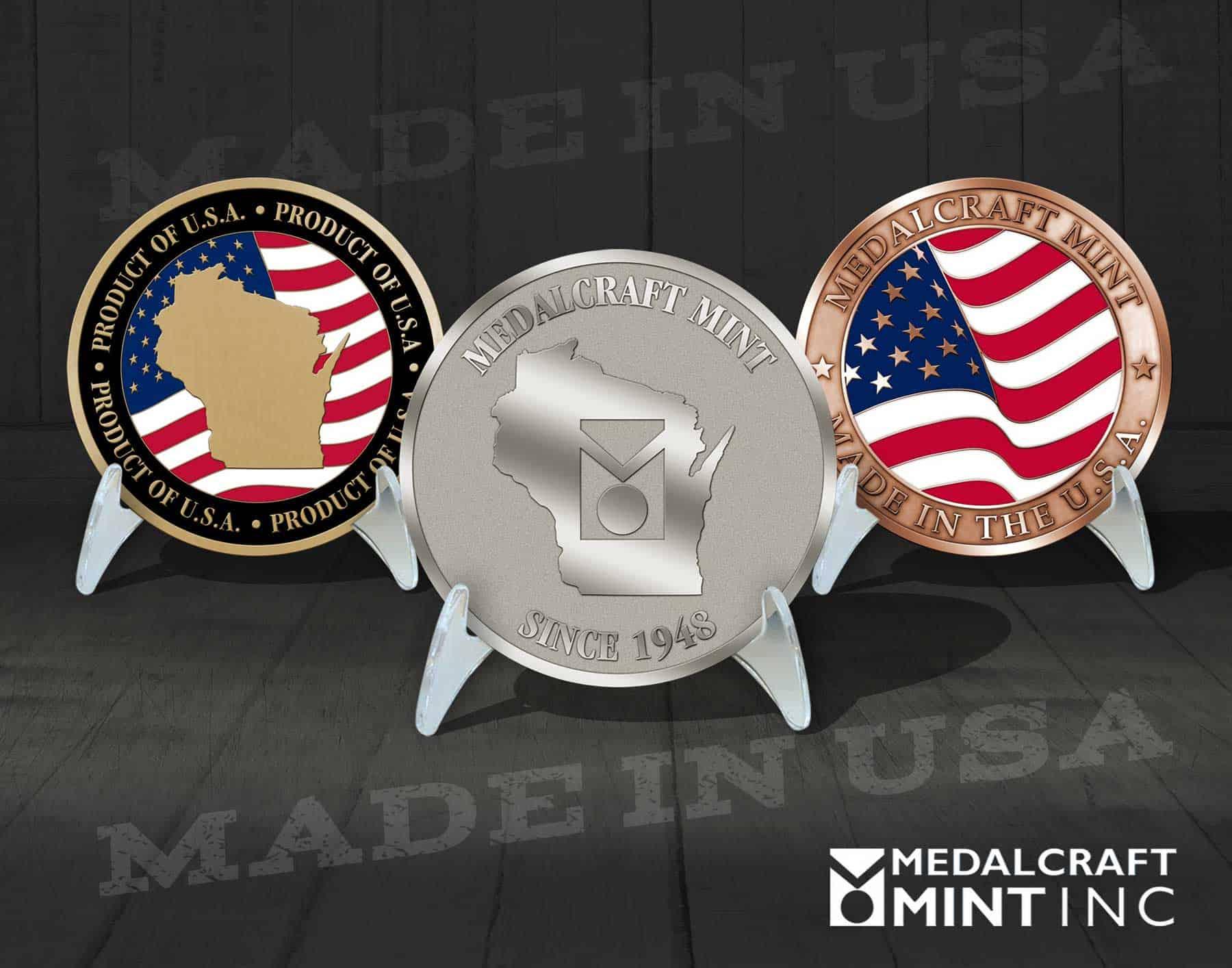 Medalcraft Mint custom coins