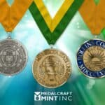 Award medals communicate excellence on multiple levels