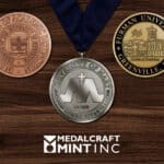 Custom medallions enhance the significance of graduation medals
