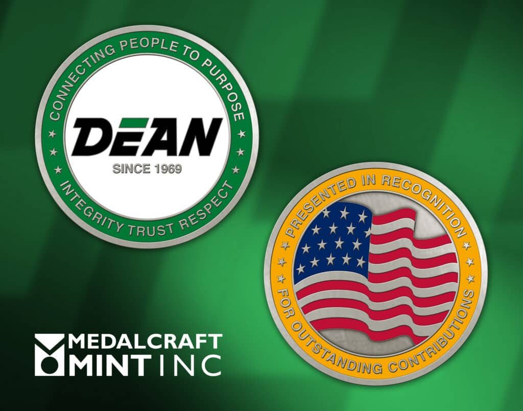 Medalcraft Mint Dean Transportation, and Dean Charter and Tours