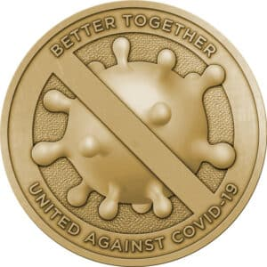 United Against COVID-19 Challenge Coin