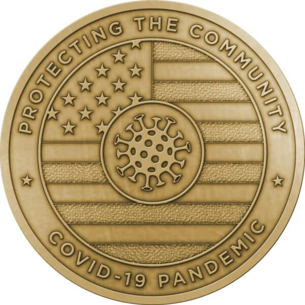 Protecting the Community Challenge Coins – Without Enamel