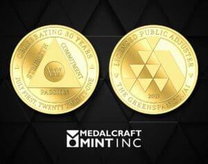 Medalcraft Mint The Greenspan Co./Adjusters International