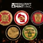 Firefighter challenge coins highlight dedicated service